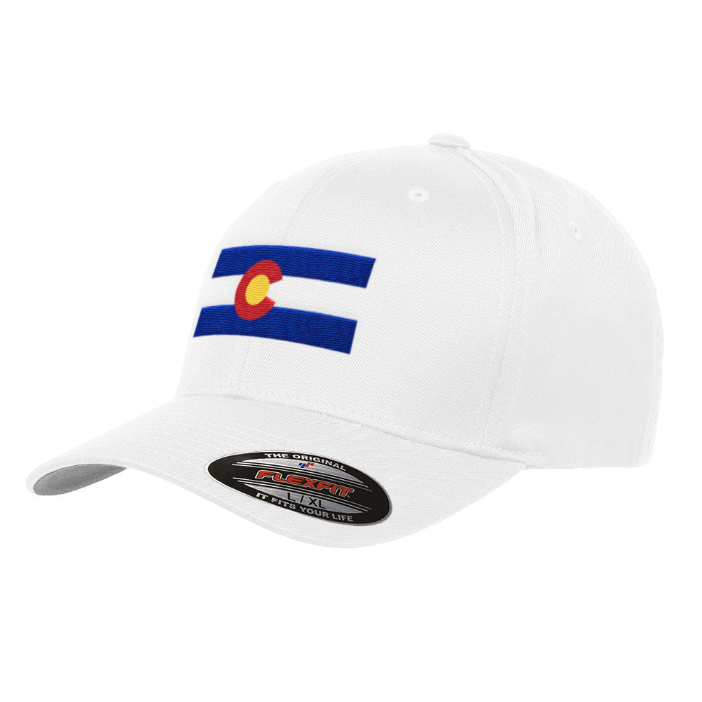 Colorado State Flag Flexfit Hat Yuppong Denver Boulder 6277