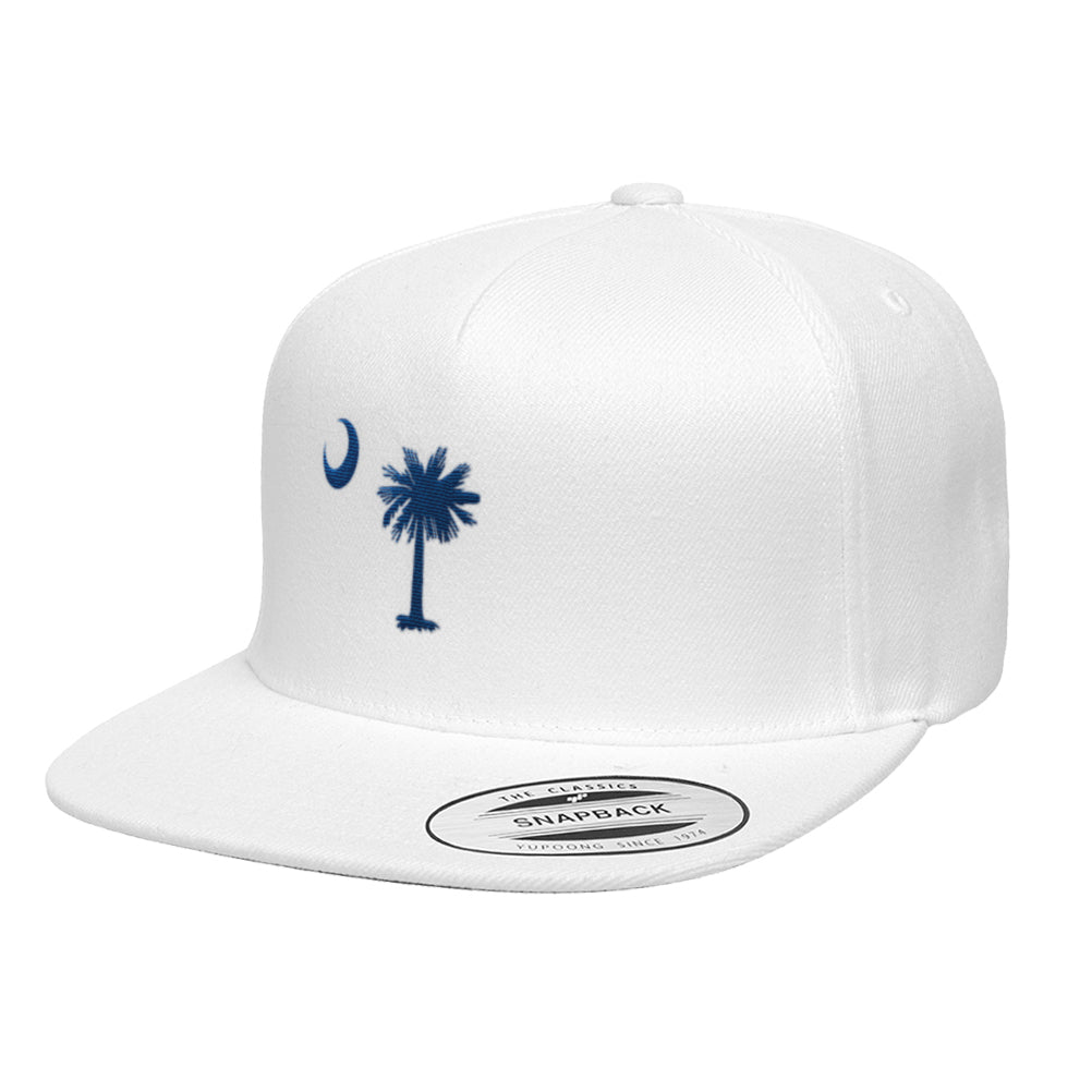 South Carolina Flag Premium Classic Snapback Hat 6089M