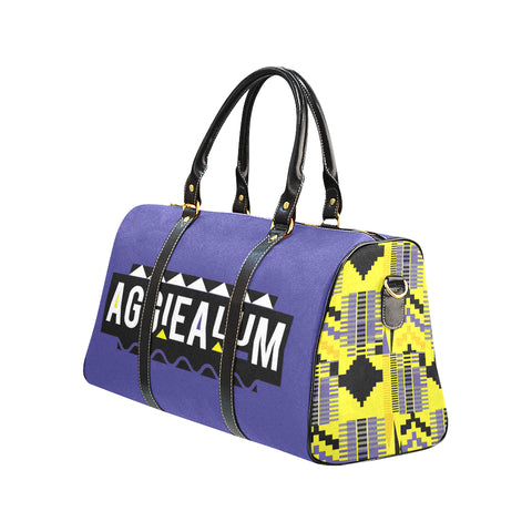Aggie Alum Travel Bag w/ Kente Panels