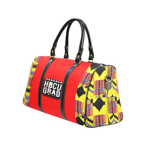 Red Martin Kente Travel Bag Travel Bag