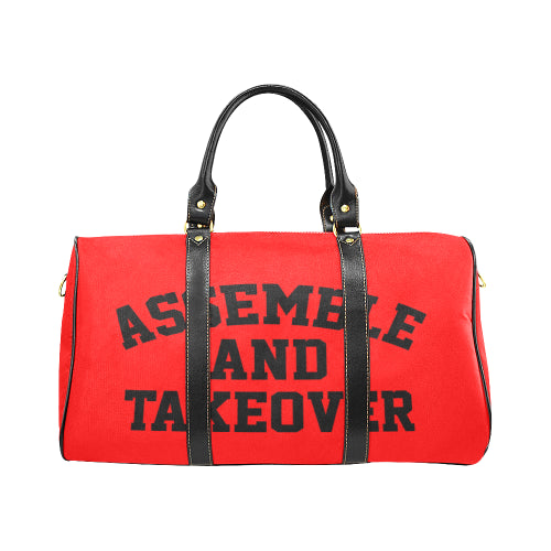 Assemble & Takeover Travel Bag - Red