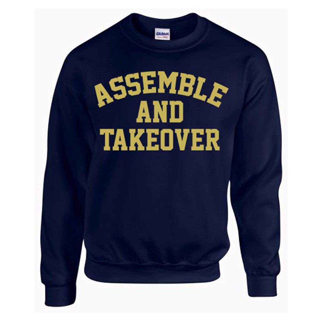 Exclusive Colorway | Assemble & Takeover Old Gold | Sweatshirt - Navy