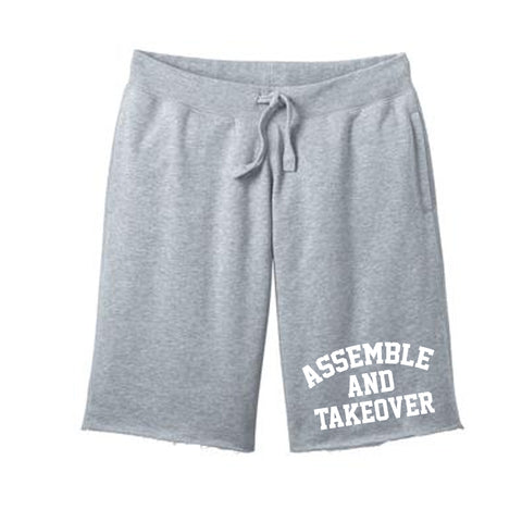 Urban Argyle | Assemble & Takeover | Fleece Shorts - Gray