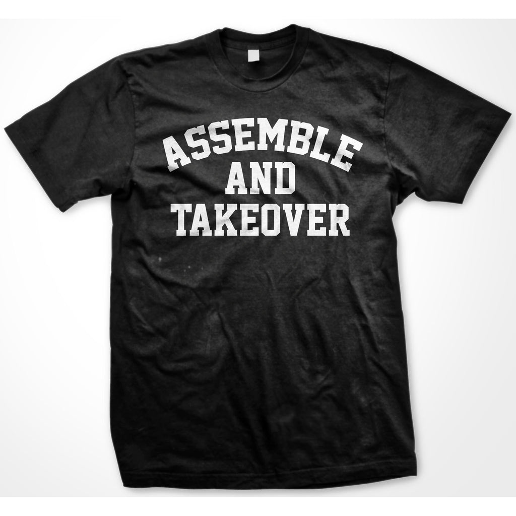 Urban Argyle | Assemble & Takeover | Tshirt - Black