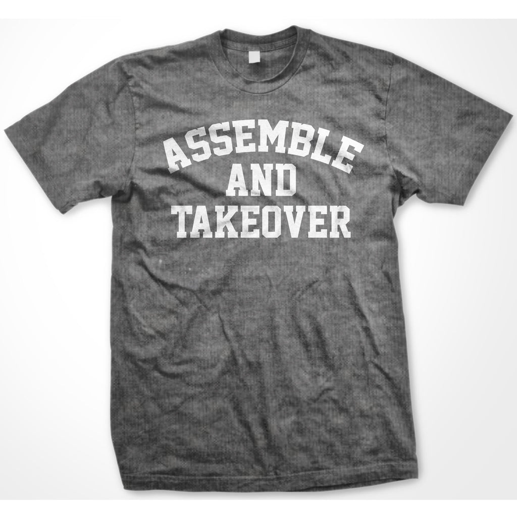 Urban Argyle | Assemble & Takeover | Tshirt - Heather Gray