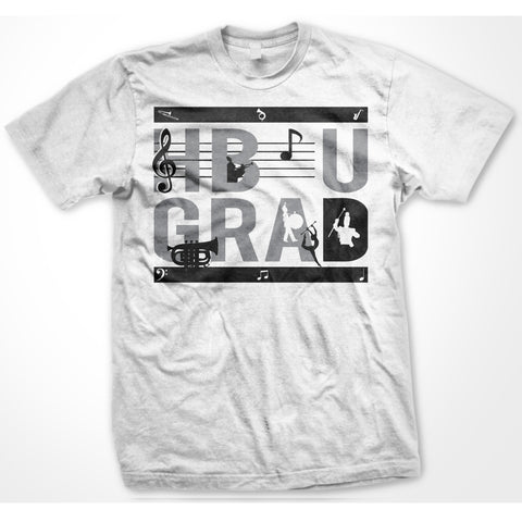 HBCU GRAD | Band 1 Edition | Tshirt - White