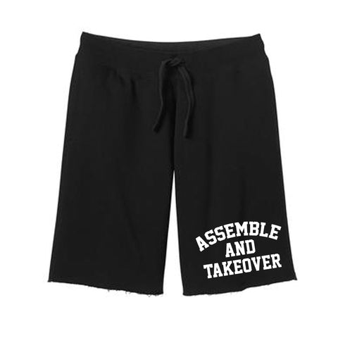 Urban Argyle | Assemble & Takeover | Fleece Shorts - Black
