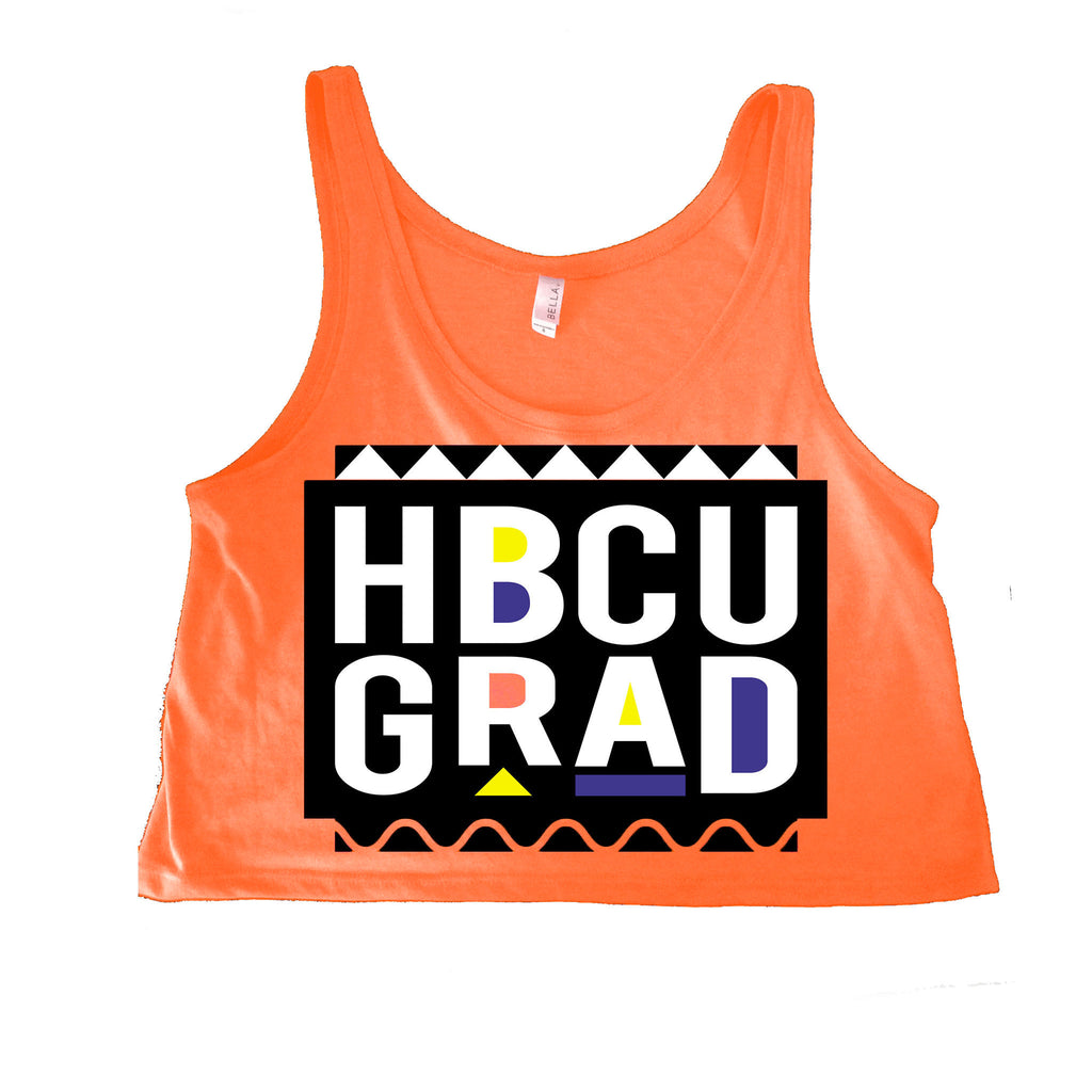 HBCU GRAD | Martin Edition | Crop Top - Coral
