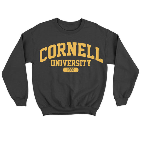 Urban Argyle | Cornell 1906 | Sweatshirt - Black