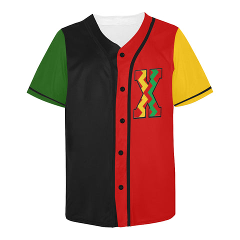 Legalize Melanin Color Block Baseball Jersey