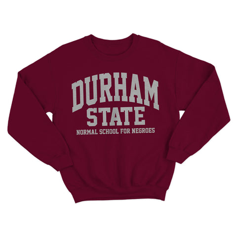 Historically Black | Durham State | Sweatshirt - Maroon