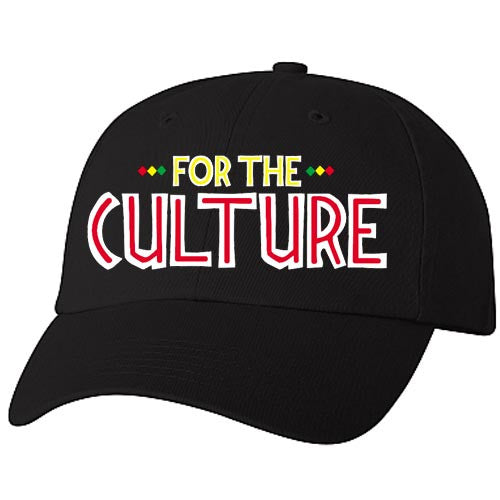 Historically Black | For The Culture | Ball Cap - Black