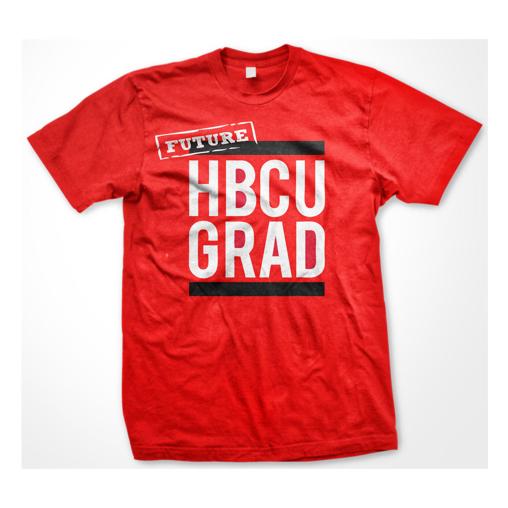 Future HBCUGRAD | Classic Red Future | Tshirt - Red