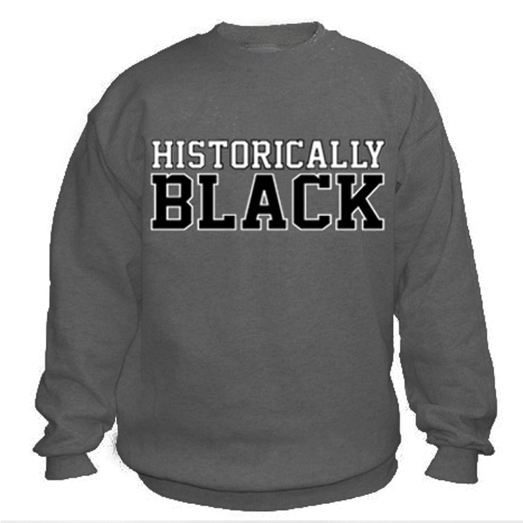HBCU | Historically Black | Sweatshirt - Charcoal