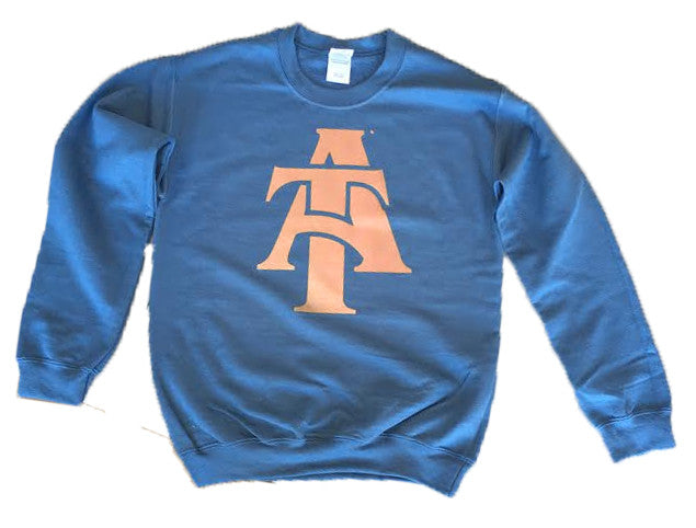 HBCU | Rose Gold | Sweatshirt - Indigo Blue
