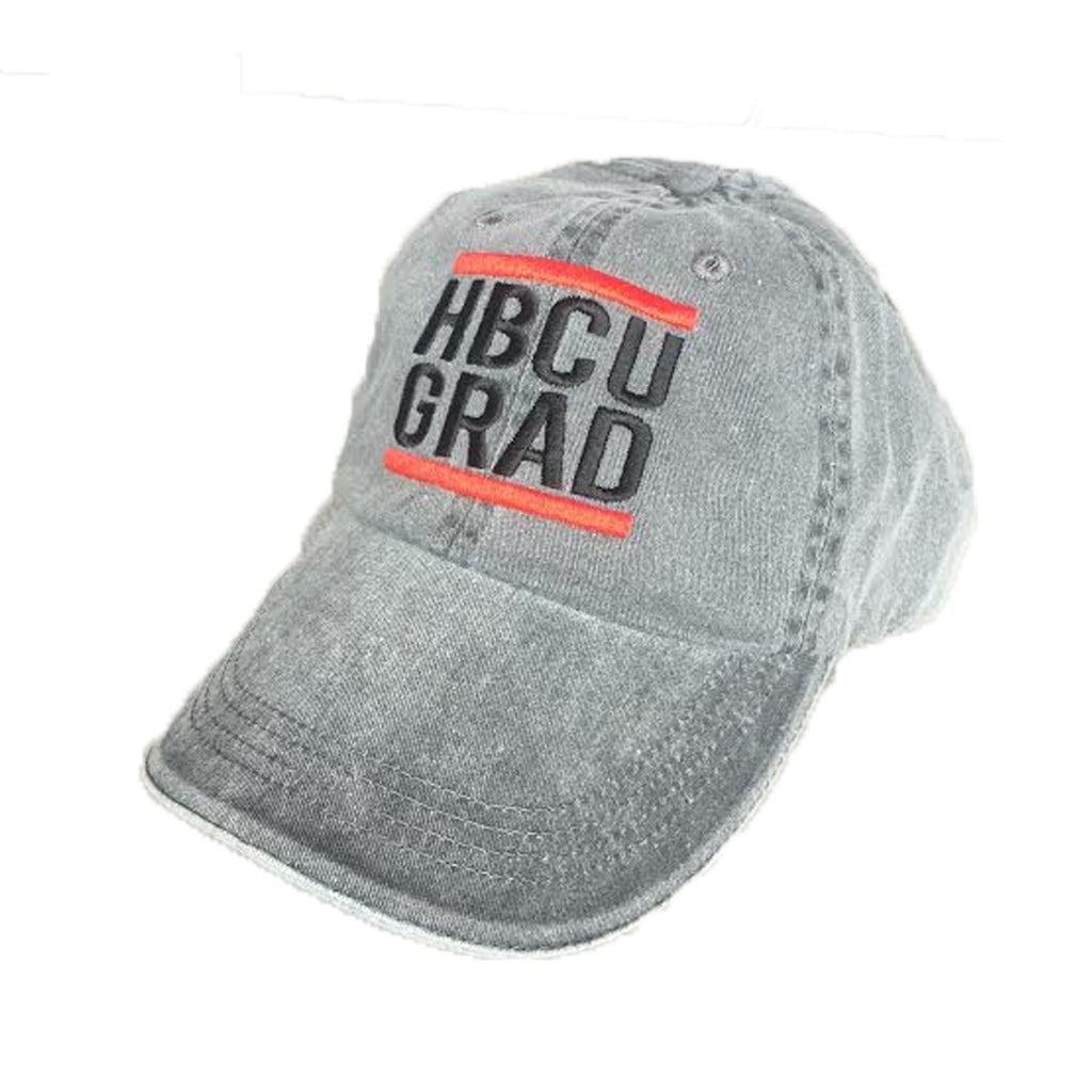 HBCU Grad | Classic Charcoal | Low Profile Cap - Charcoal