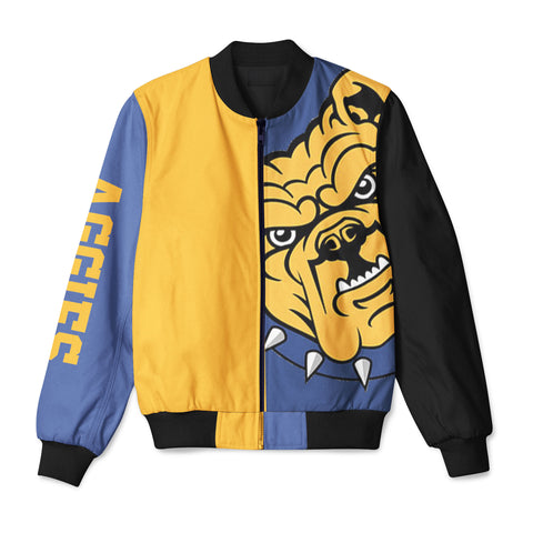 Alumni Color Block Bomber