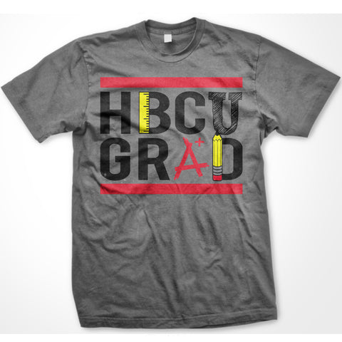 HBCU GRAD | Teacher Edition | Tshirt - Charcoal