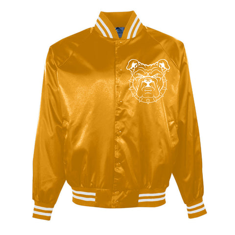 HBCU | Embroidered Patch | Varsity Jacket - Gold