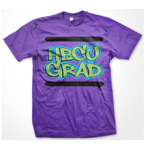 HBCU GRAD | West Philly | Tshirt - Purple