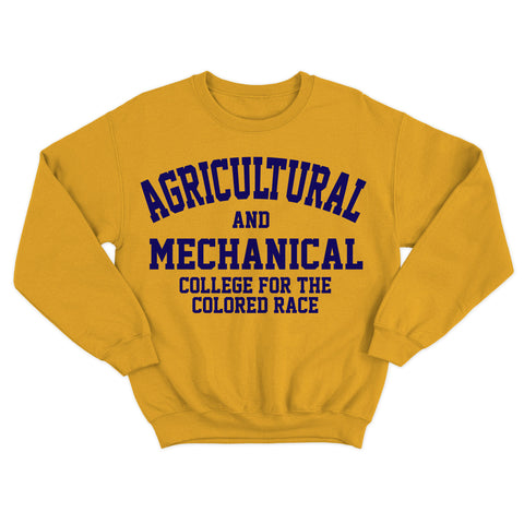 Historically Black | A&M College | Sweatshirt - Gold