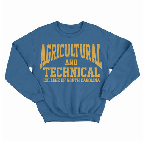 Historically Black | A&T College | Sweatshirt - Royal