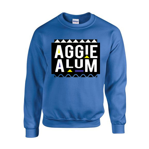 HBCU | Aggie Alum | Sweatshirt - Royal