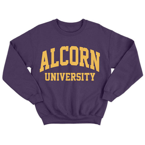 Historically Black | Alcorn University | Sweatshirt - Plum