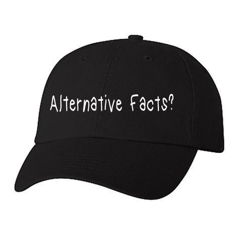 Historically Black | Alternative Facts | Ball Cap - Black