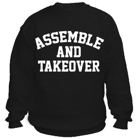 Urban Argyle | Assemble & Takeover | Sweatshirt - Black