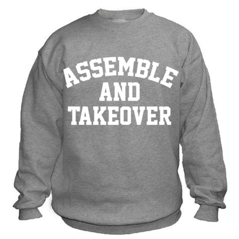 Urban Argyle | Assemble & Takeover | Sweatshirt - Sports Gray