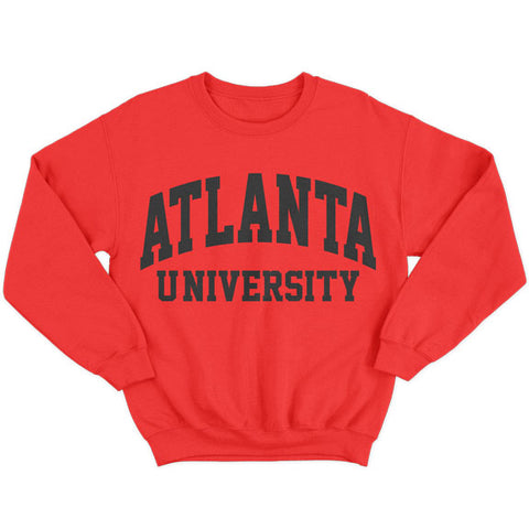 Historically Black | Atlanta U | Sweatshirt - Red