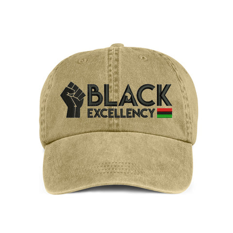 Historically Black | Black Excellency | Ball Cap - Khaki