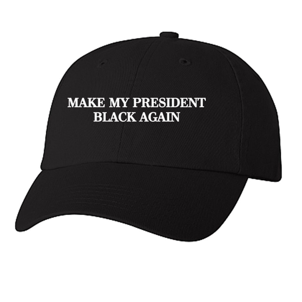 Historically Black | Black Prez | Ball Cap - Black