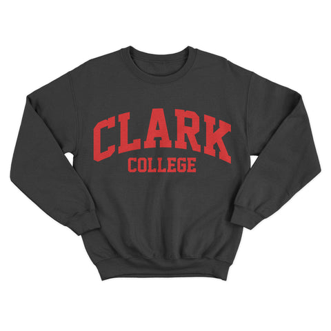 Historically Black | Clark College | Sweatshirt - Black