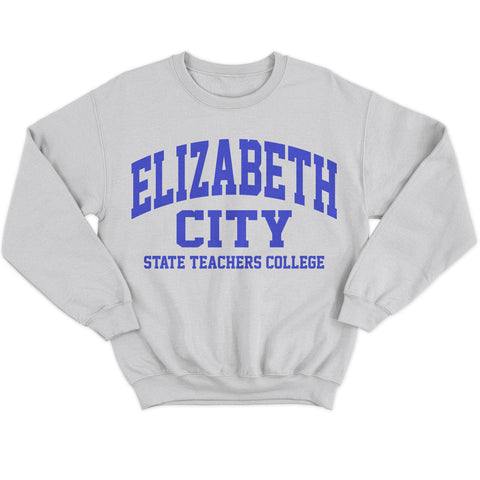 Historically Black | Elizabeth City Teachers | Sweatshirt - Light Gray