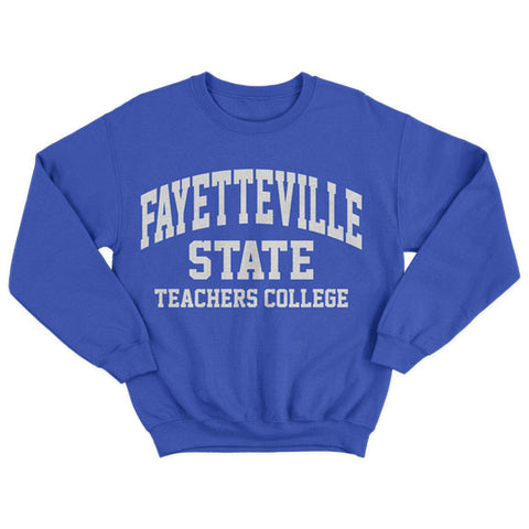 Historically Black | Fayetteville State Teachers | Sweatshirt - Blue