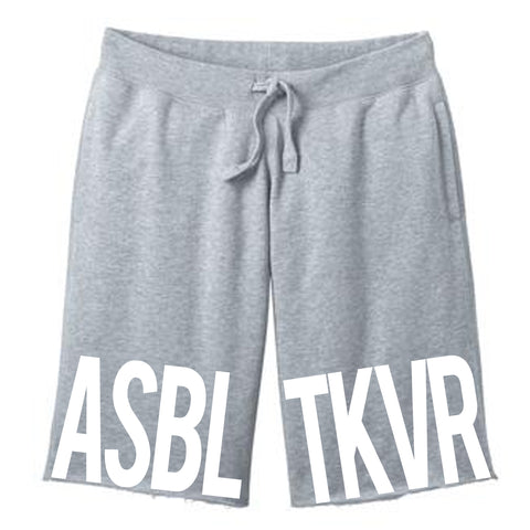 Urban Argyle | Assemble & Takeover Bold | Fleece Shorts - Gray