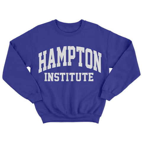 Historically Black | Hampton Institute | Sweatshirt - Blue