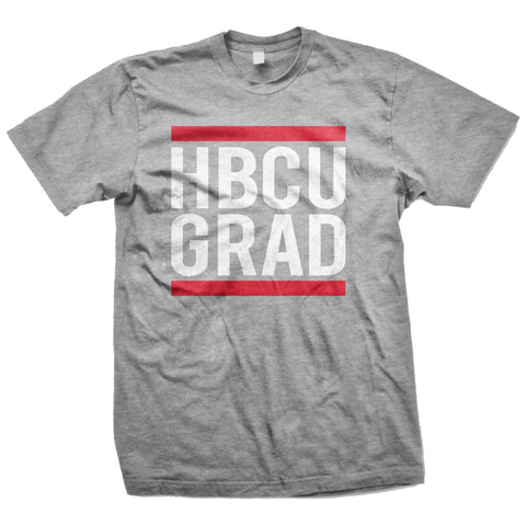 HBCU GRAD | Classic Sports Gray | Tshirt - Sports Gray