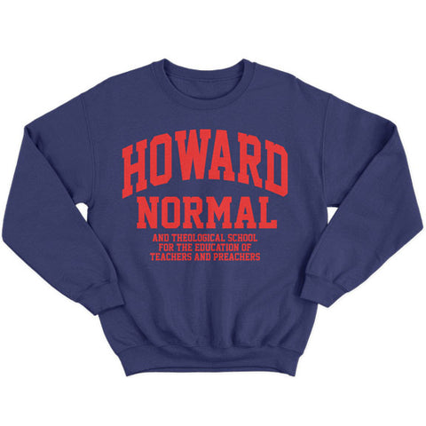 Historically Black | Howard Normal | Sweatshirt - Navy