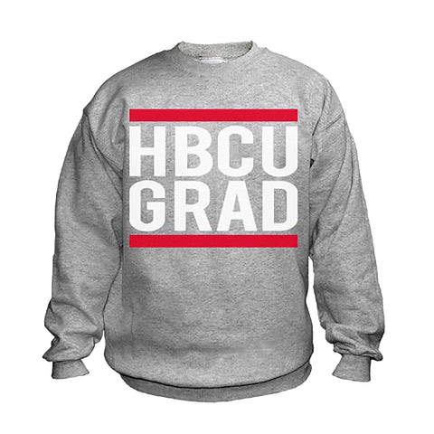HBCU Grad | Classic Sports Gray | Sweatshirt - Sports Gray