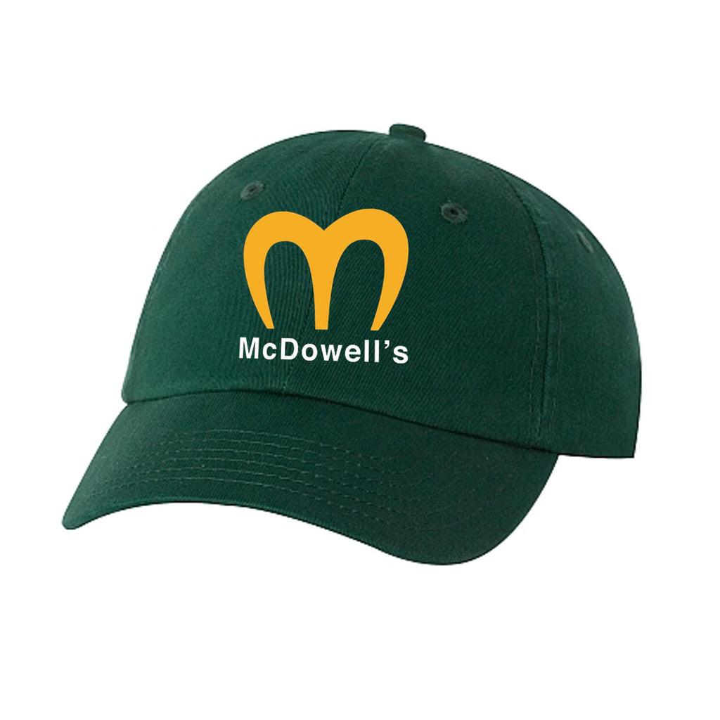Nostalgia Series | McDowell's | Dad Hat - Hunter Green