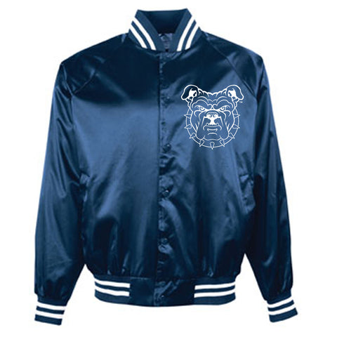 HBCU | Embroidered Patch | Varsity Jacket - Navy