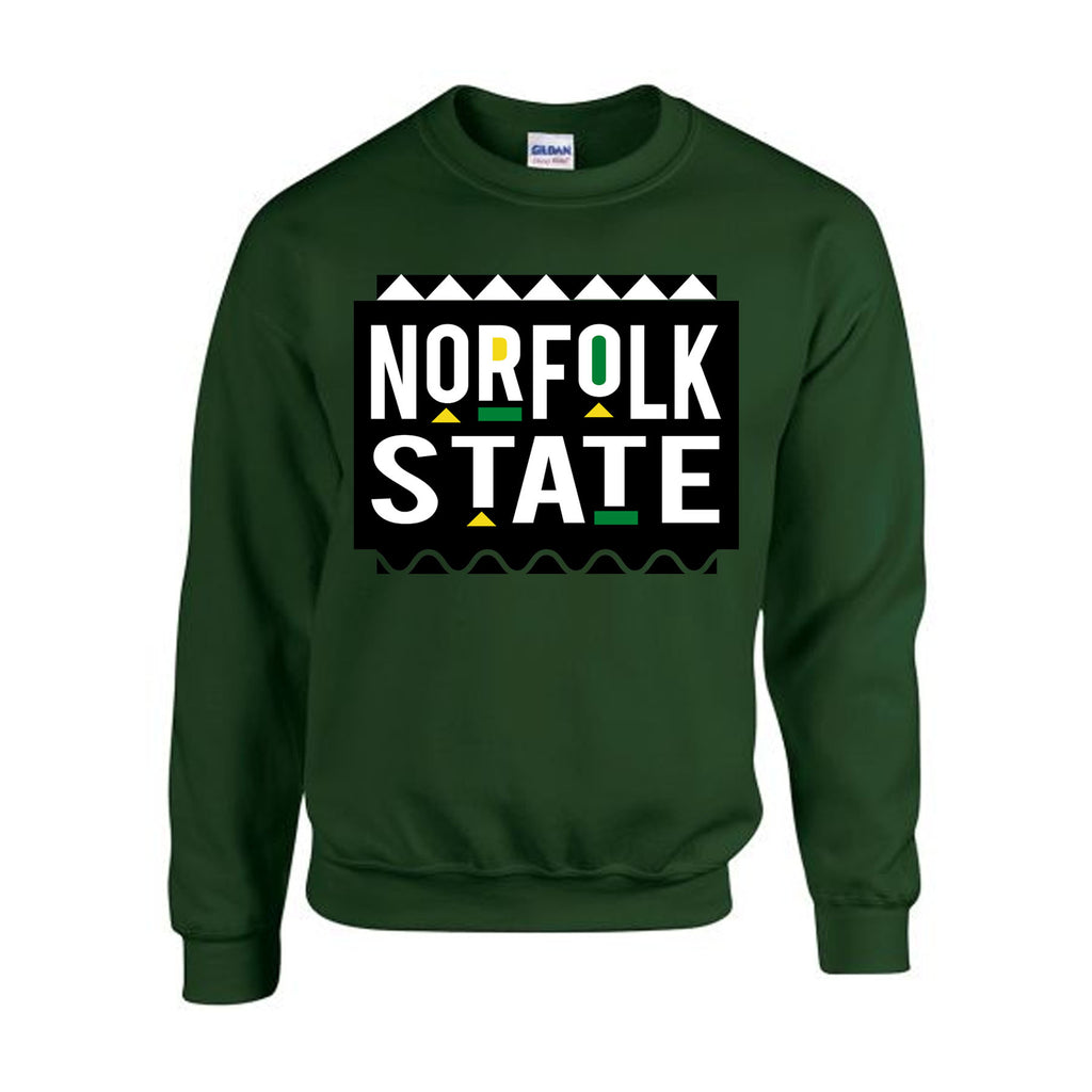 HBCU | Norfolk State | Sweatshirt - Dark Green