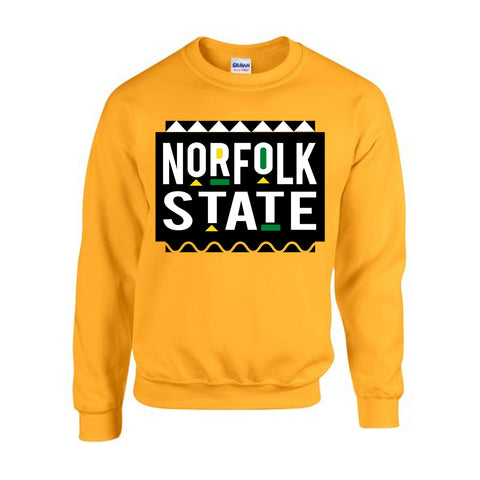 HBCU | Norfolk State | Sweatshirt - Gold