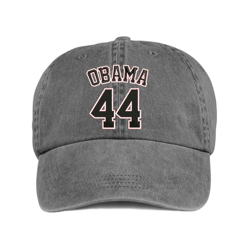 Historically Black | Obama 44 | Ball Cap - Gray