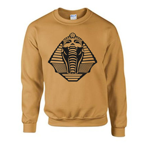 Urban Argyle | Pharaoh | Sweatshirt - Old Gold