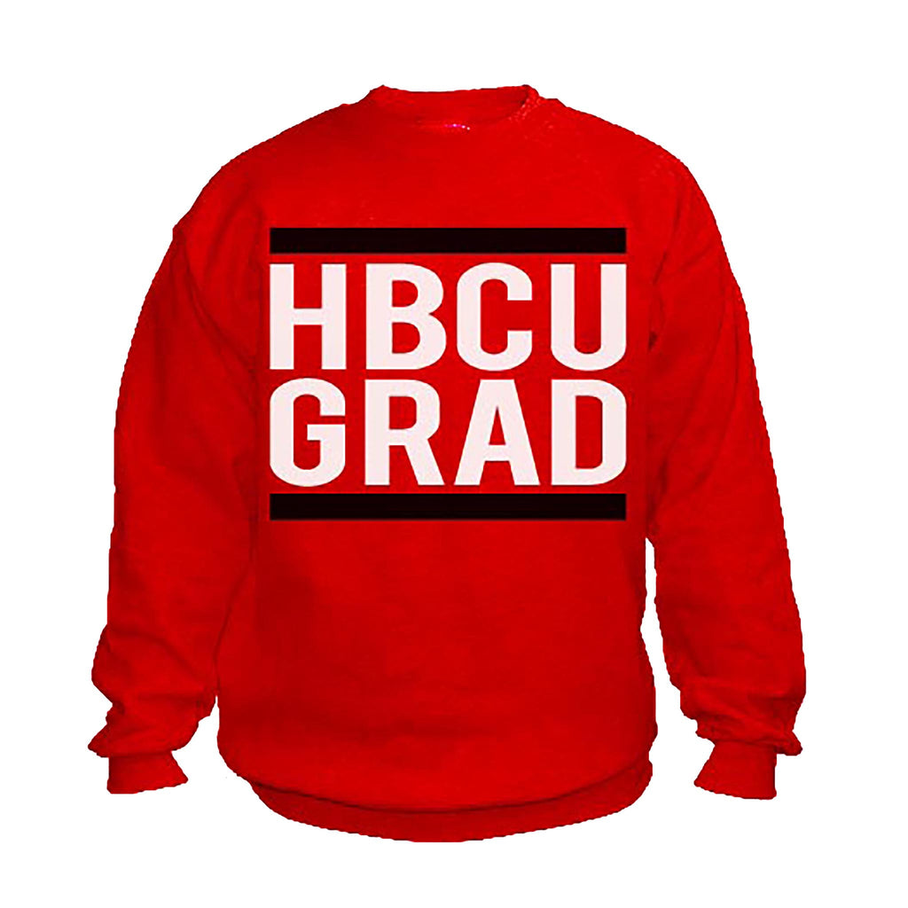 HBCU Grad | Classic Red | Sweatshirt - Red