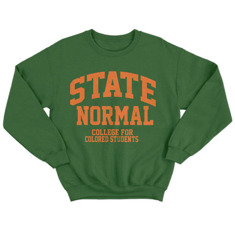 Historically Black | State Normal | Sweatshirt - Forest Green